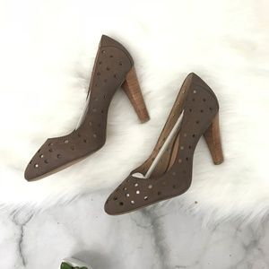 NIB Corso Como Sydney Nubuk Leather Heel Sz. 8.5M